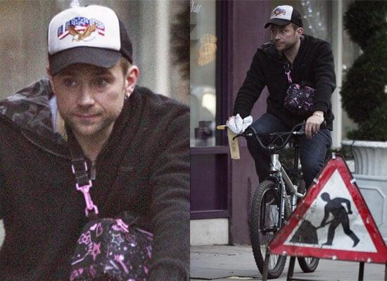 Photos of Damon Albarn Out On His Bike In London Ahead Of Blur Reunion, Premiered Three New Gorillaz Tracks on Radio One