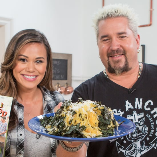 Guy Fieri's Spaghetti Squash and Kale Salad
