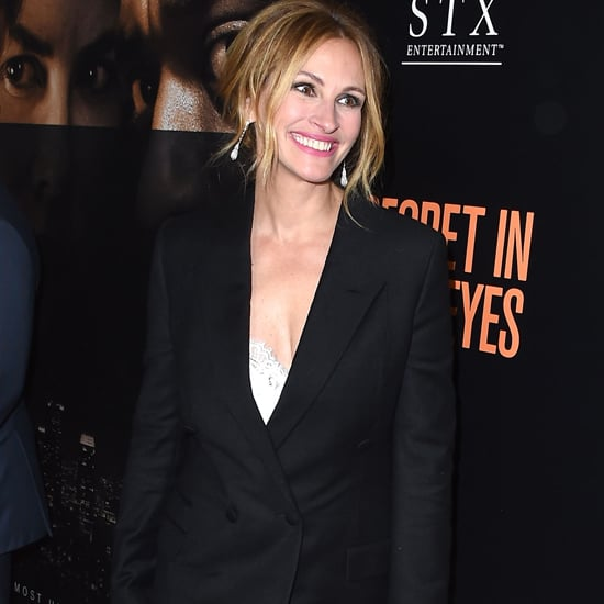 Julia Roberts Wearing a Blazer and Dress