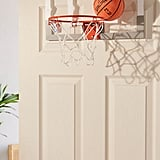 Spalding NBA Slam Jam Over-The-Door Mini Basketball Hoop Backboard Set