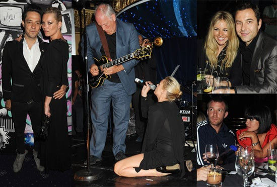 Photos of Kate Moss Performing at Charity Event in London
