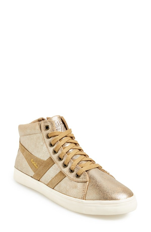 Gola 'Lily' Metallic High-Top Sneaker ($70)