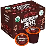 Four Sigmatic Mushroom K-Cup Coffee Pods With Chaga and Cordyceps