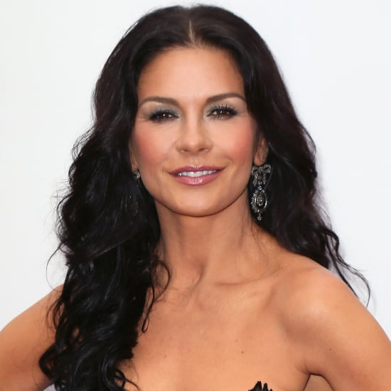 Catherine Zeta Jones Metallic Smoky Eye Popsugar Beauty