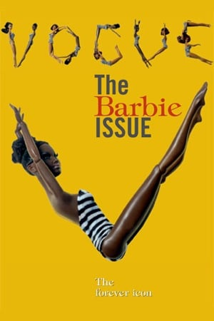 Photos of Vogue Italia's All Black Issue Featuring Barbie