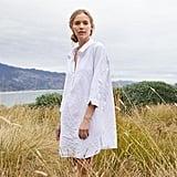 Coyuchi Organic Crinkled Sleep Shirt