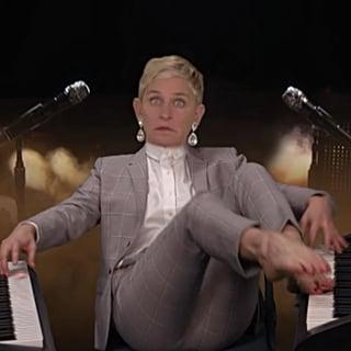 Ellen DeGeneres Spoofs Alicia Keys' 2019 Grammys Performance