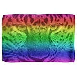Rainbow Leopard Dish Towels