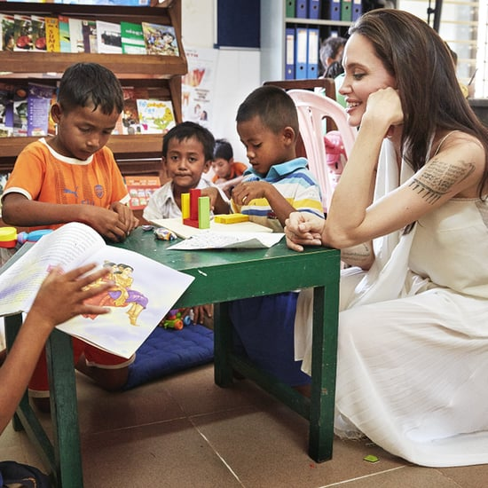 Angelina Jolie Producing BBC Children's Series