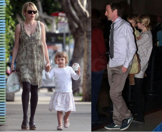 Michelle and Matilda With Spike Jonze