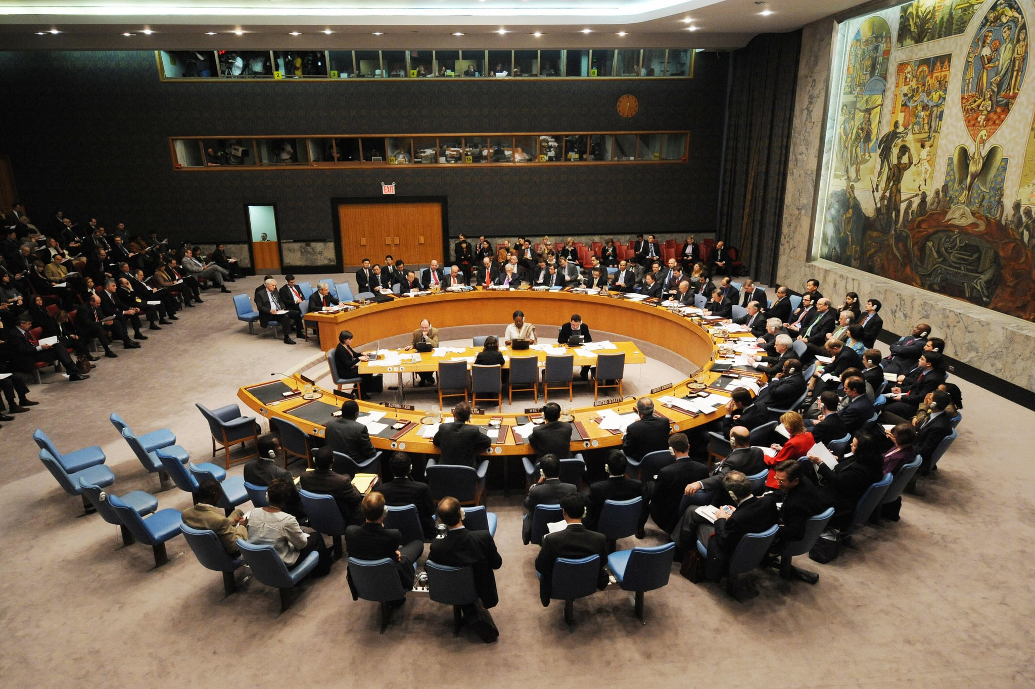 The United Nations Security Council met in New York, the day after Kosovo declared independence to discuss the situation.