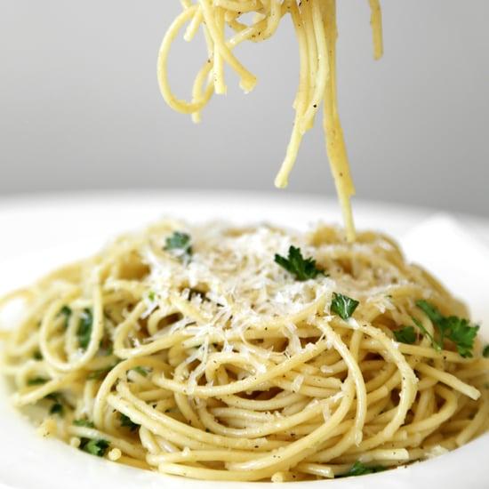 Parmesan Garlic Spaghetti Recipe