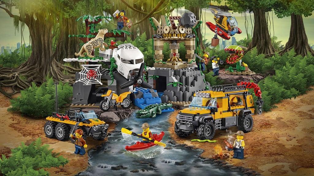 be23f235bf5b LEGO City Jungle Explorers Jungle Exploration Site | Best Lego Sets ...
