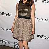 Alicia Silverstone glowed in a metallic dress at the InStyle party at the Windsor Arms hotel in Toronto.