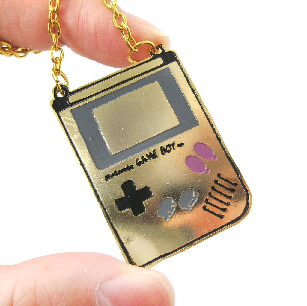 Classic Nintendo Game Boy Necklace ($18)