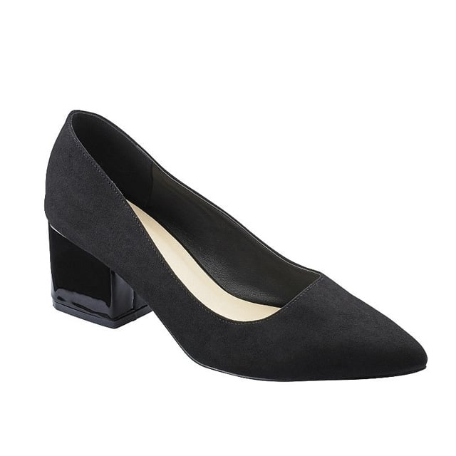 Sole Diva Block Heel Court Shoes ($43)