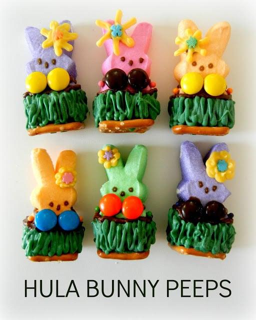 Hula Bunny Peeps