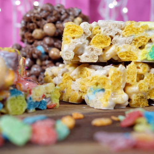 Crispy Cereal Marshmallows Recipe — Dishmaps