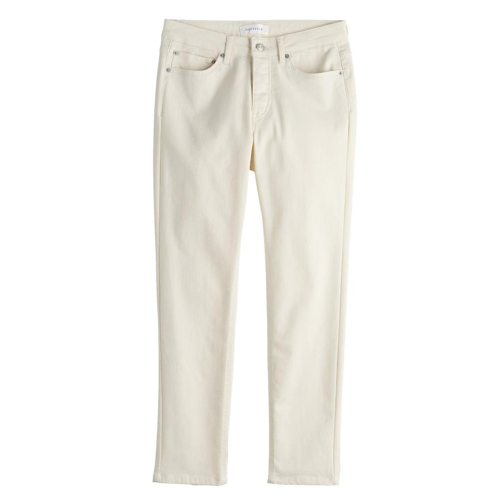 POPSUGAR Midrise Straight-Leg Jeans