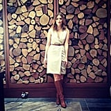 Mischa Barton paid a visit to the Australian outback. Source: Instagram user mischamazing