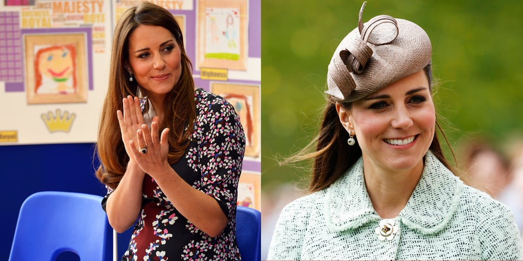 Kate Middleton Wears Mulberry and Erdem Pregnant
