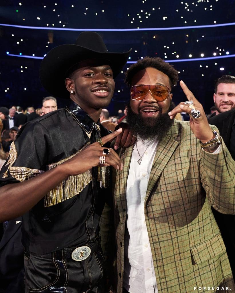Lil Nas X and Blanco Brown at the 2019 CMA Awards