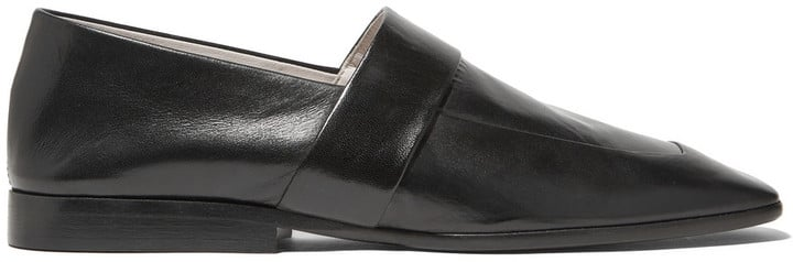 Victoria Beckham Leather Slippers ($970)