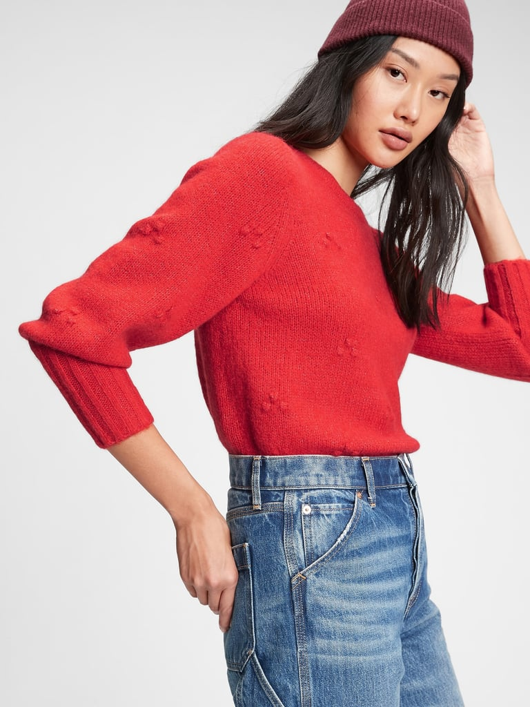 Gap Puff-Sleeve Sweater