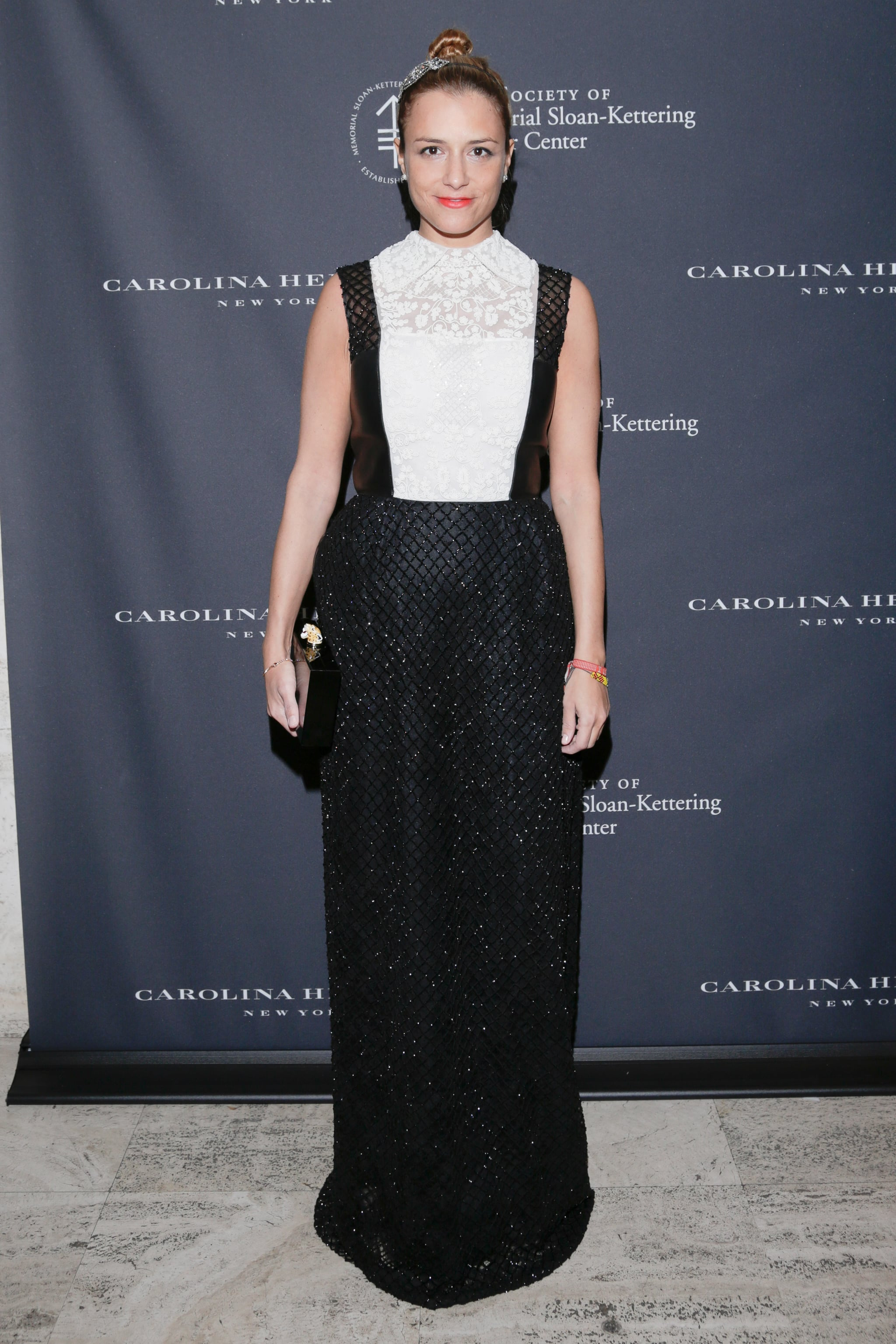 Charlotte Ronson in Valentino at The Society of Memorial Sloan-Kettering Cancer Center's Fall Party.