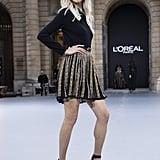 Soo Joo Park Walks Le Défilé L'Oréal Paris 2019