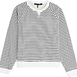Rag & Bone Striped Cotton Sweatshirt ($215)