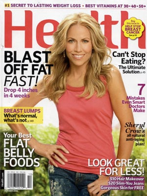 Sheryl Crow Is the Picture of (and on) Health