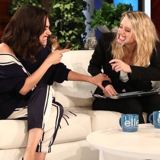 "Mila Kunis and Kate McKinnon Play ""Speak Out"" Game on Ellen"