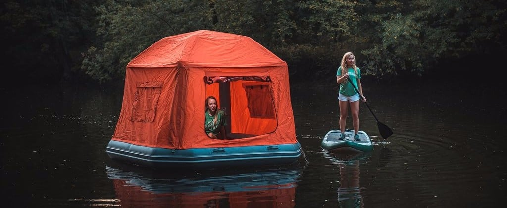 This Is Not a Dream: You Can Sleep on Water in This Floating Tent