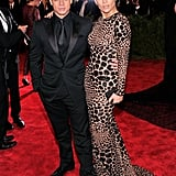 Jennifer Lopez opted out of punk for signature siren style. The star picked formfitting Michael Kors for her night out with boyfriend Casper Smart.