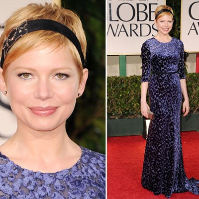 Michelle Williams in Jason Wu at Golden Globes 2012