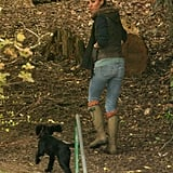 Kate Middleton Cuddles With Lupo While Camping With the Scouts