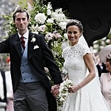 Pippa Middleton and James Matthews wed in a gorgeous wedding in Berkshire, England, in May 2017. While Kate Middleton didn't serve as the maid of honor, Princess Charlotte was one of the flower girls and Prince George was a page boy.