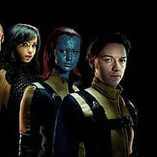 Picture From X-Men: First Class Featuring James McAvoy, January Jones, Michael Fassbender, Zoe Kravitz