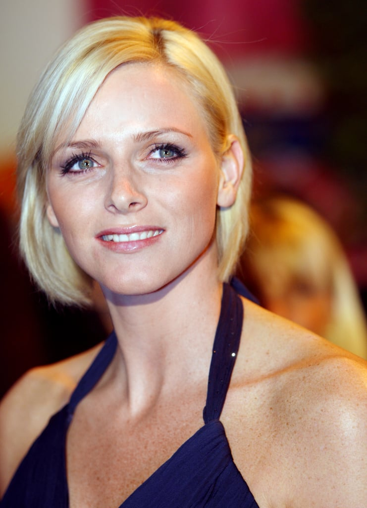 Princess Charlene glowed in Monte Carlo in 2008.  Source: Getty / Valery Hache/AFP