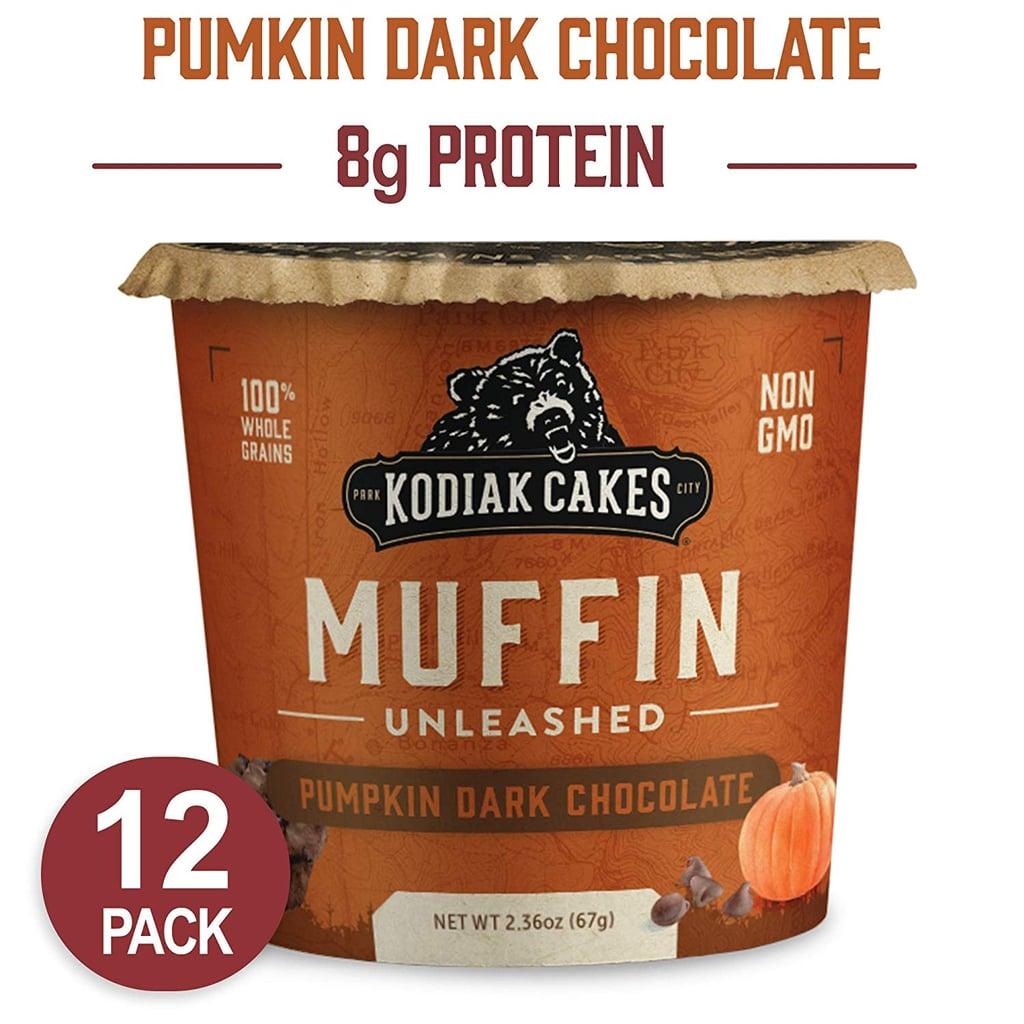 Kodiak Cakes Minute Muffins High Protein Snack, Pumpkin Dark Chocolate
