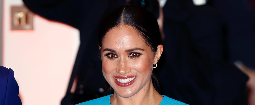 Meghan Markle Wearing Bronze Eye Shadow 2020