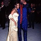 Dennis Rodman and Vivica A. Fox