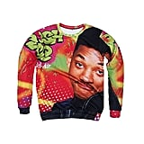 Fresh Prince of Bel-Air Face Ugly Christmas Sweater