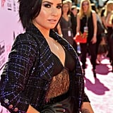 Demi Lovato Showed Off Her Sexy Dark Side at the Billboard Music Awards