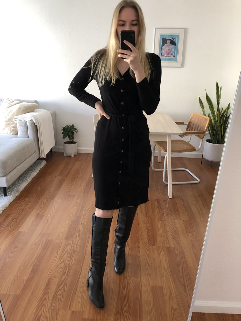 Styled With knee-high boots