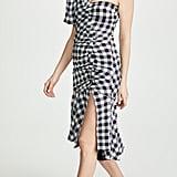 Jonathan Simkhai Lux Twill One-Sleeve Dress