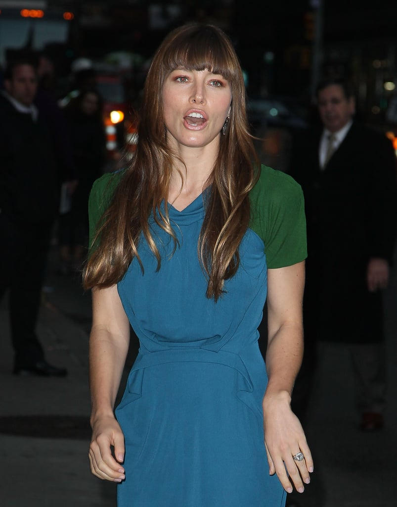 Jessica Biel was out in NYC.