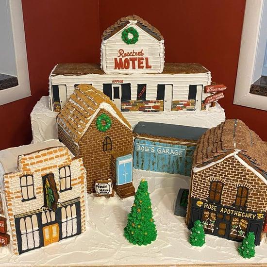 See Photos of Schitt's Creek-Themed Gingerbread Houses