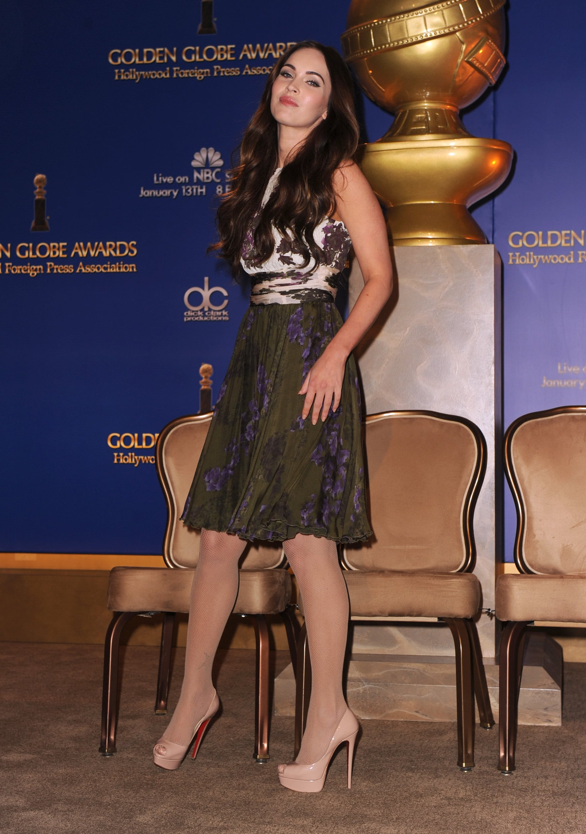 Megan Fox was on stage at the LA event.